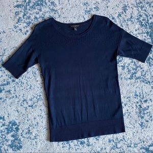 Navy blue sweater shirt